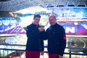 27 August 2019; Kazan; Worldksills Kazan 2019 - Abschlussfeier der Worldskills 2019 in der Kazan Arena (Foto: Victor Berezkin)